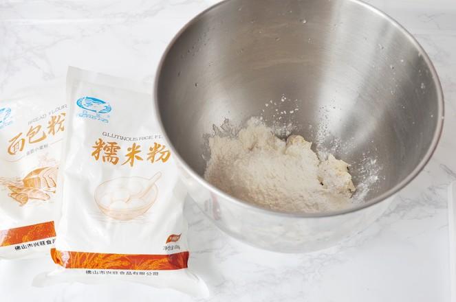 糯米餐包的简单做法