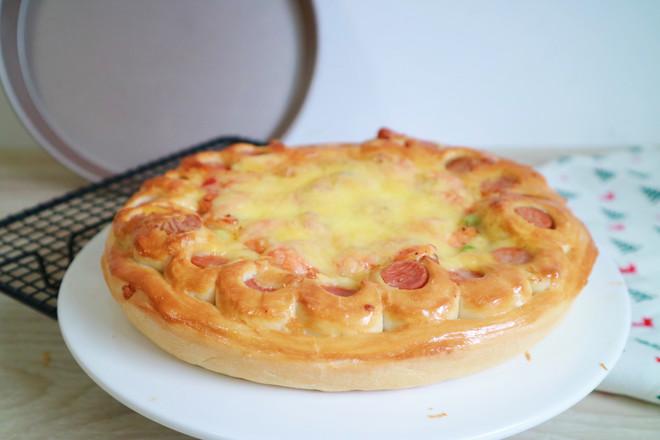 培根火腿鲜虾披萨的制作大全