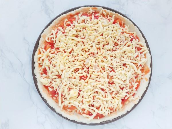 番茄龙利鱼披萨怎样煮