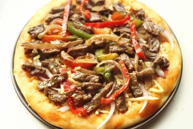 黑椒牛柳披萨怎样做