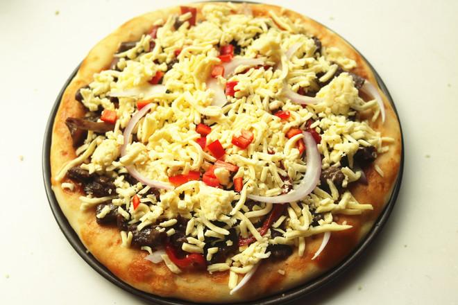 黑椒牛柳披萨怎样炒