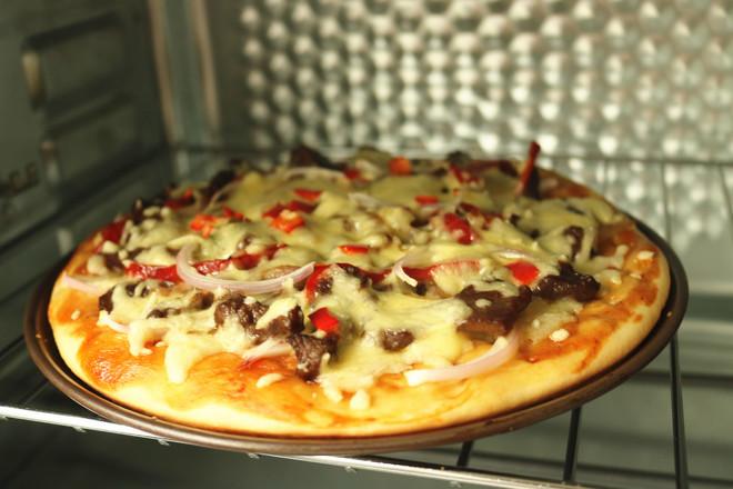 黑椒牛柳披萨怎样煮