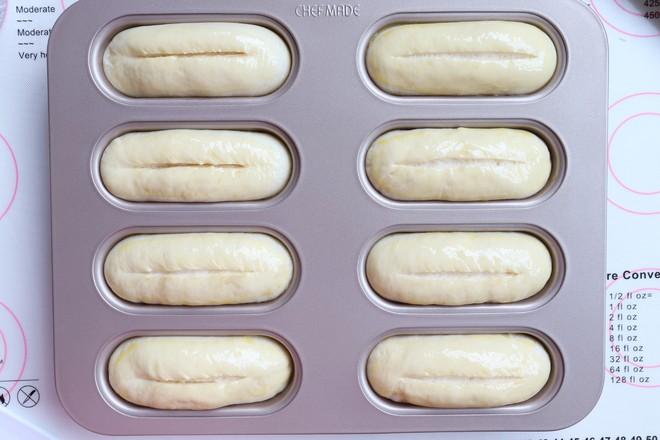 玉米火腿沙拉面包的步骤