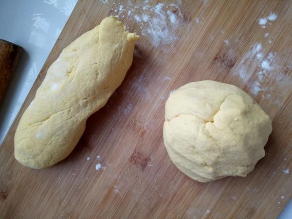奶香玉米饼的简单做法