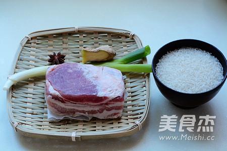 红烧肉焖饭的做法大全