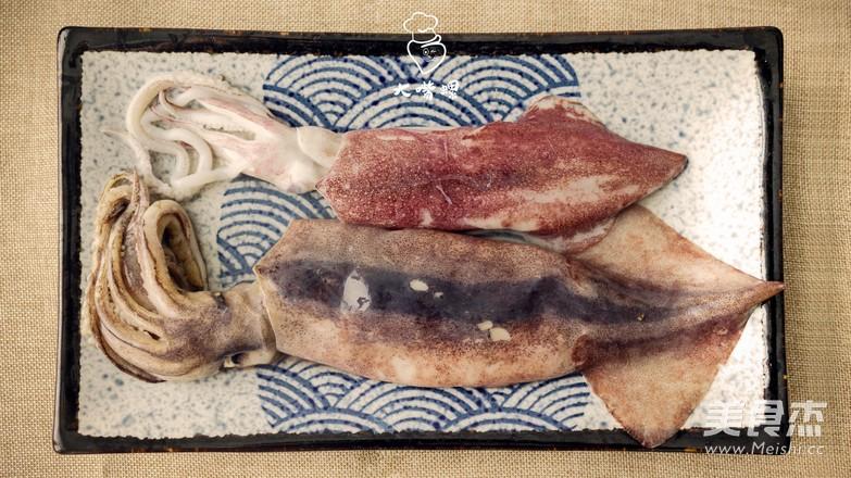 鱿鱼卷螺蛳粉丨大嘴螺的做法图解