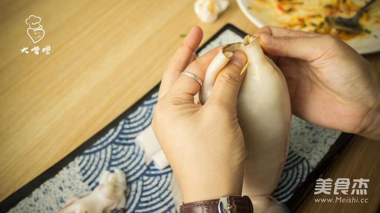 鱿鱼卷螺蛳粉丨大嘴螺怎么做