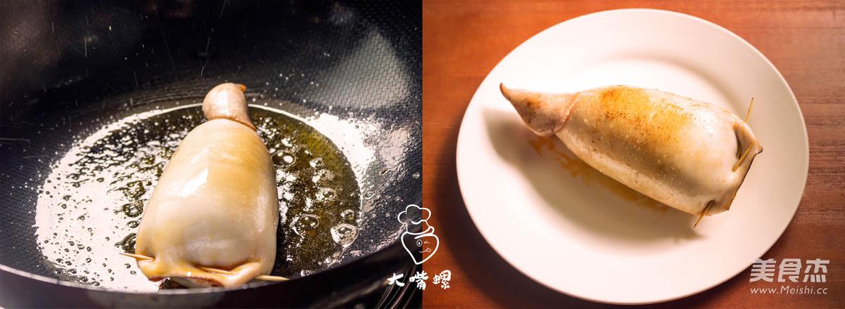鱿鱼卷螺蛳粉丨大嘴螺怎么煮