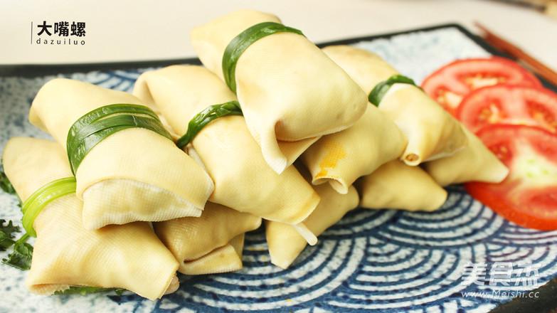 豆皮包螺蛳粉丨大嘴螺怎样做