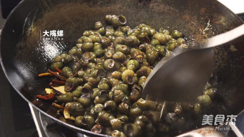 紫苏炒石螺丨大嘴螺怎么做