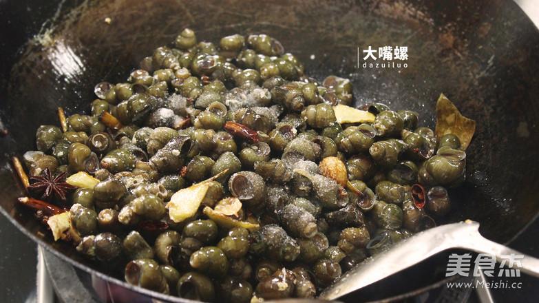紫苏炒石螺丨大嘴螺怎么炒