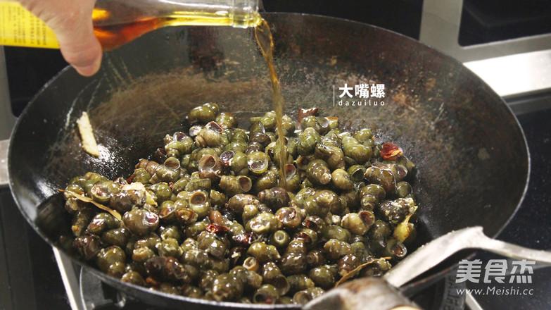 紫苏炒石螺丨大嘴螺怎么煮