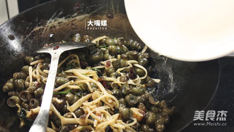 紫苏炒石螺丨大嘴螺怎么煸