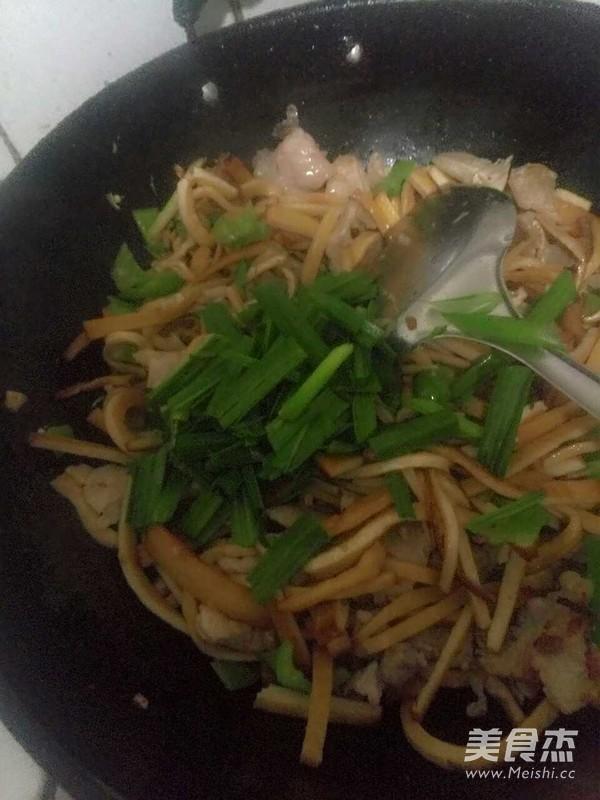 豆腐干炒肉怎么吃