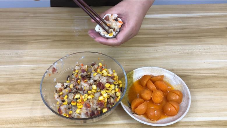 饺子皮咸蛋黄烧麦怎么炒