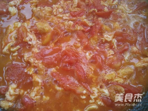 西红柿鸡蛋面的简单做法