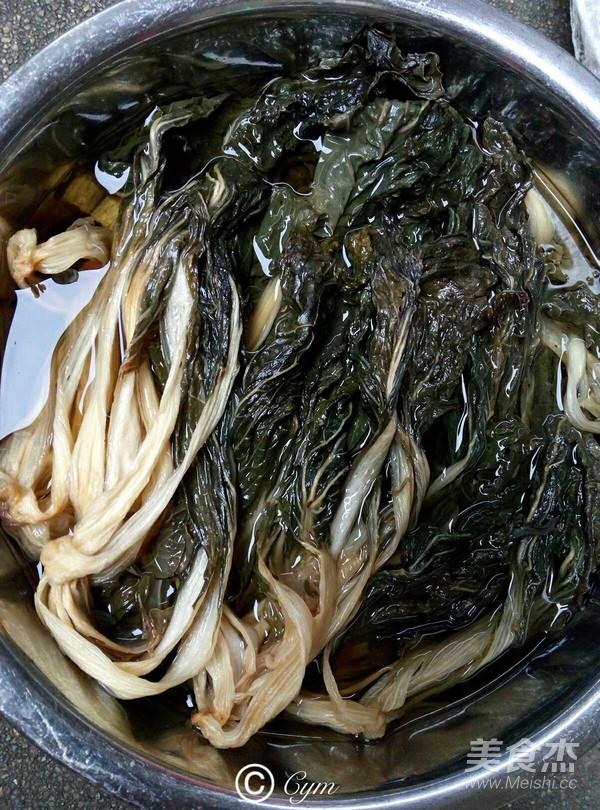 白菜干骨头汤的做法大全