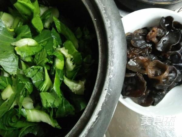 青菜炒面的做法图解