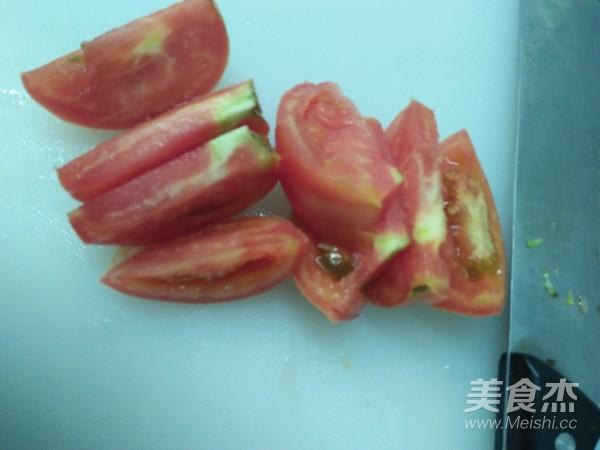 番茄鸡蛋面的做法图解