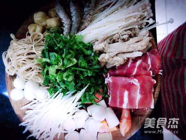 三鲜砂锅米线的做法图解