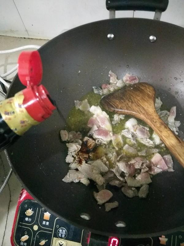 肉炒蒜苔怎么吃