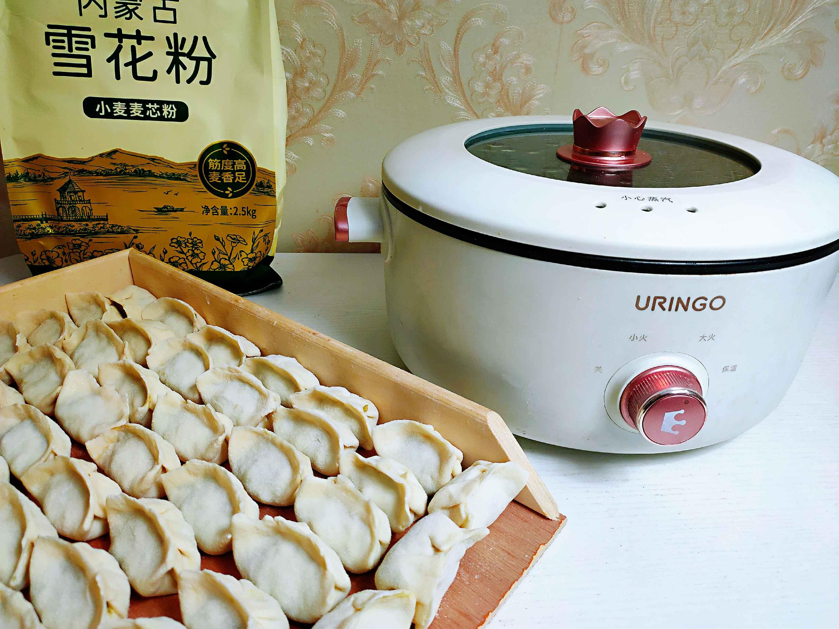 超简单的猪肉韭菜馅饺子怎么做