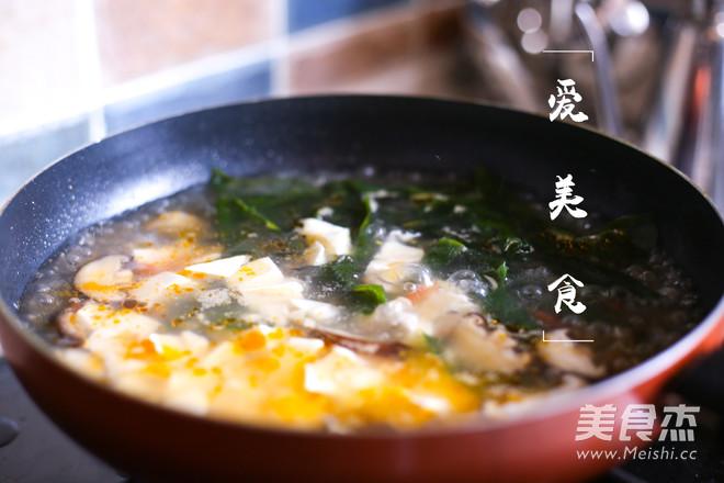 夏日味增汤的家常做法