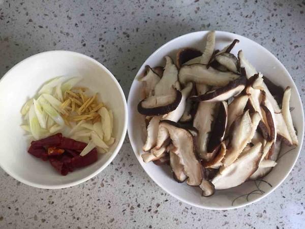 香菇油菜的做法图解