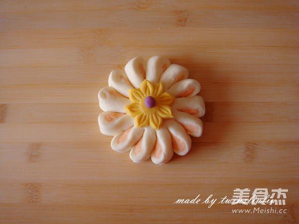 花样面食之花朵馒头的制作方法