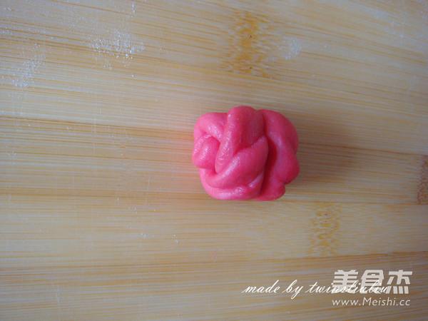 萌兔面包的制作方法