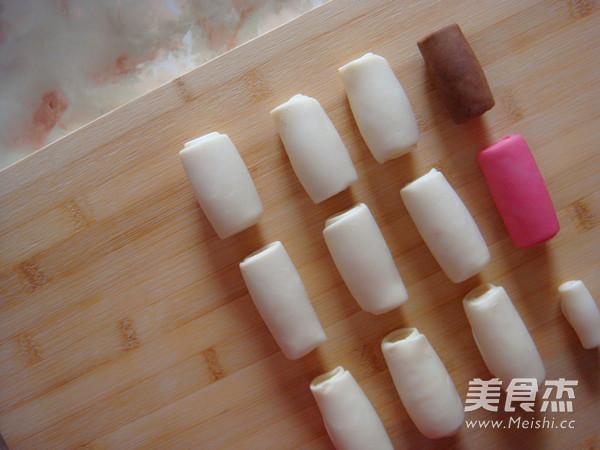 创意中式酥皮点心红梅报春的制作方法
