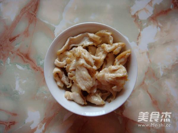 饭店热门菜|醋溜木须鸡片的家常做法