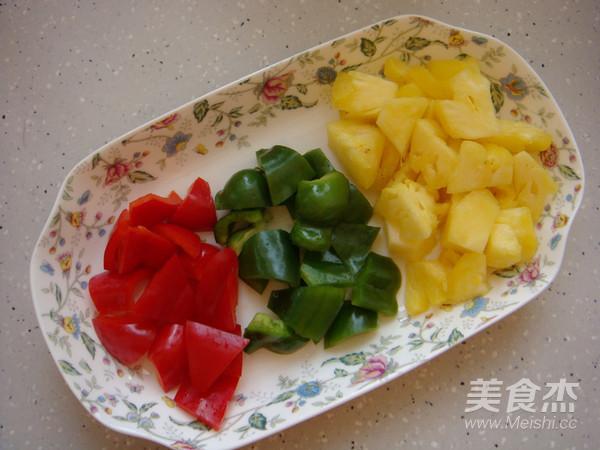 可以甩掉饭店几条街的美味菠萝古老肉的简单做法
