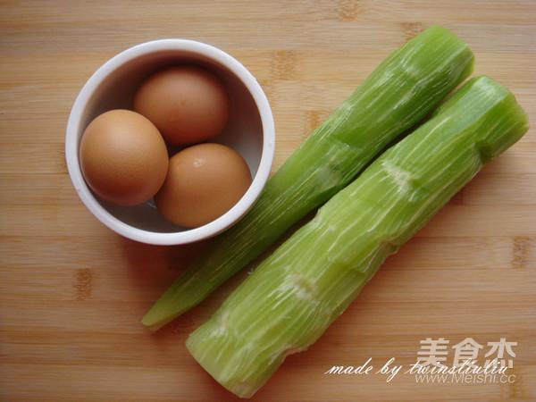 莴笋炒鸡蛋的做法大全