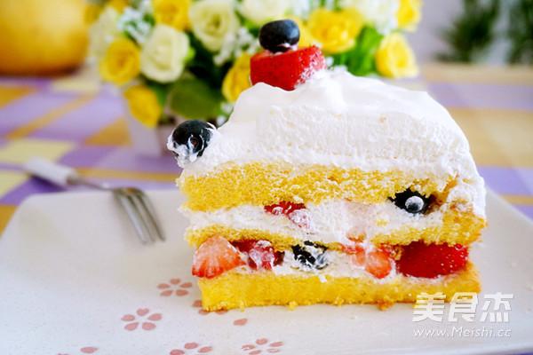 裸蛋糕的做法大全