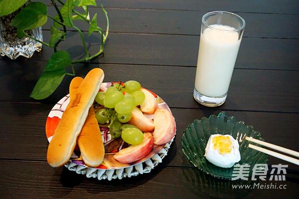北京冰镇甜豆浆成品图