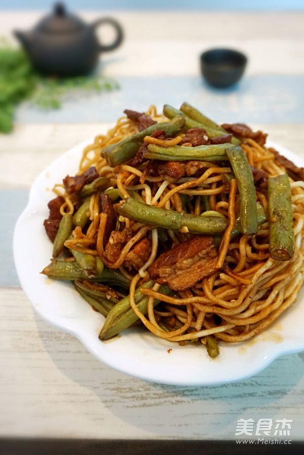 北京扁豆焖面怎样做