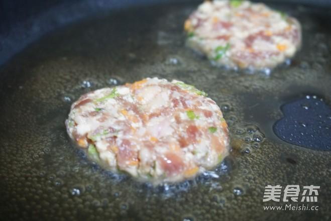 香菜豆腐肉饼怎么做