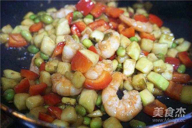 角瓜鲜炒虾怎么做