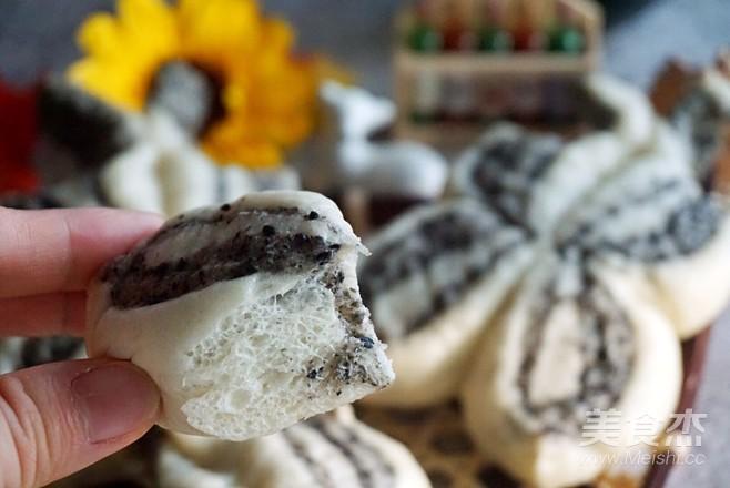 黑芝麻蝴蝶花卷怎么煮