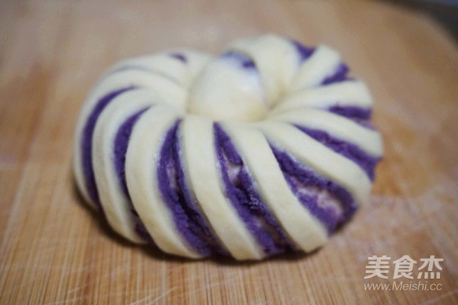 紫薯螺旋面包怎么炒