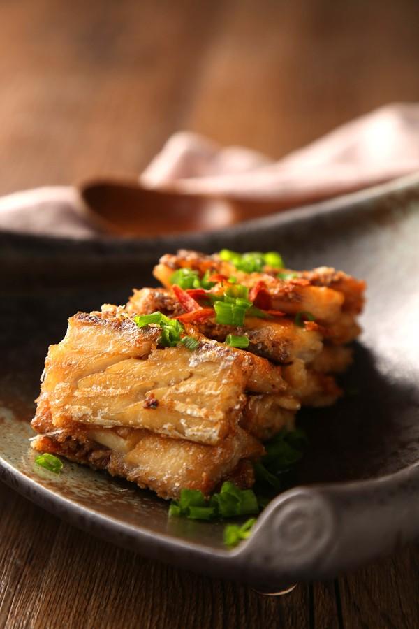 香煎带鱼成品图