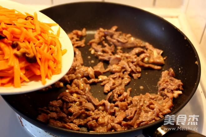 胡萝卜羊肉炒鸡蛋怎么煸