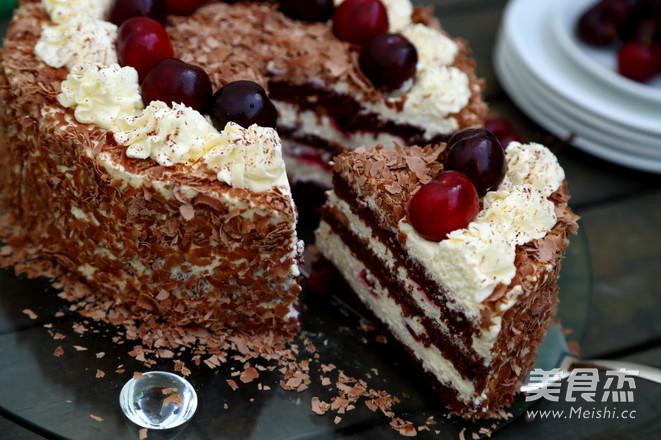 黑森林蛋糕怎么煸