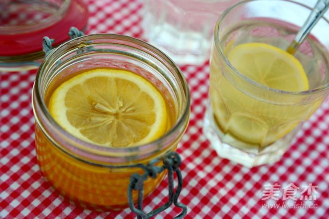 蜜渍柠檬怎么做