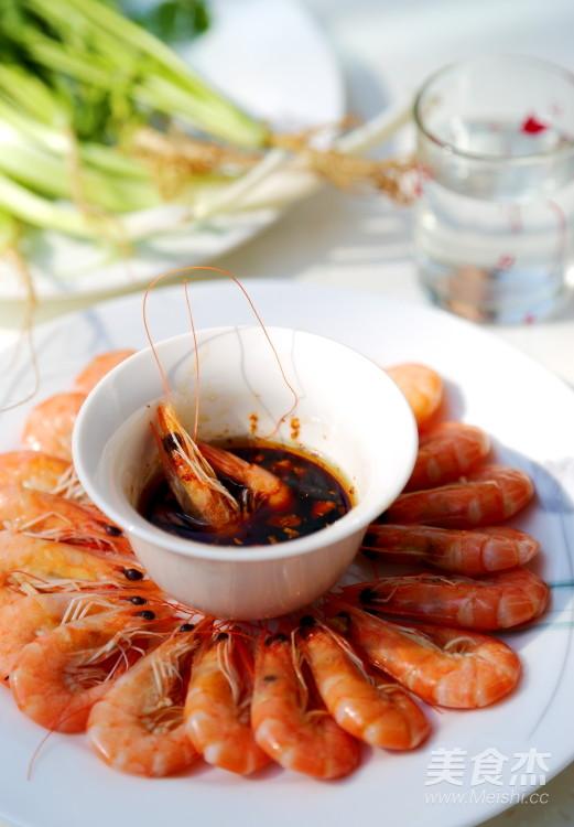 盐水虾成品图
