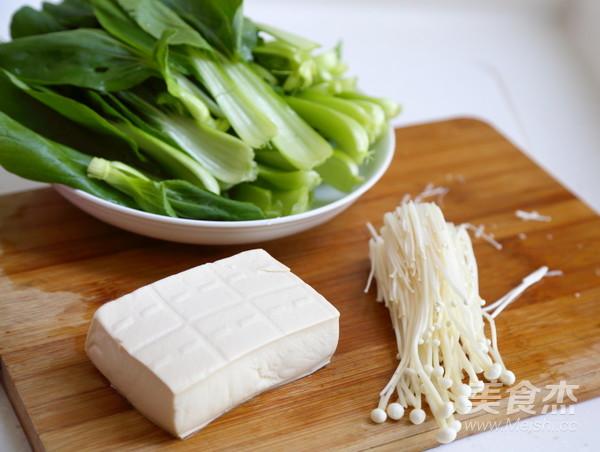 青菜豆腐汤的做法图解