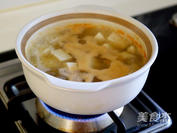 青菜豆腐汤的家常做法