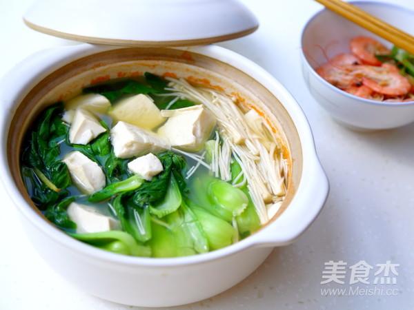青菜豆腐汤怎么做