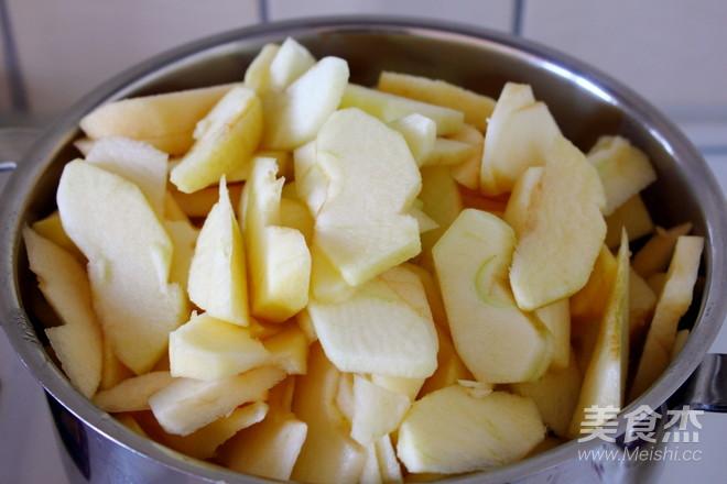 苹果酱的步骤